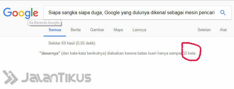 Fakta Google 1