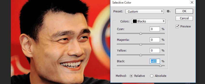 Obat Ganteng Photoshop Menghitamkan Rambut