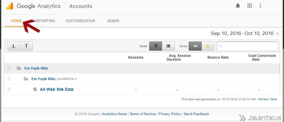 Google Analytics 8
