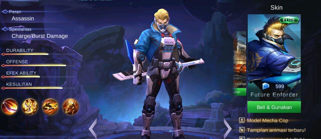 5 Hero Counter Hayabusa, Ninja Bayangan di Mobile Legends!