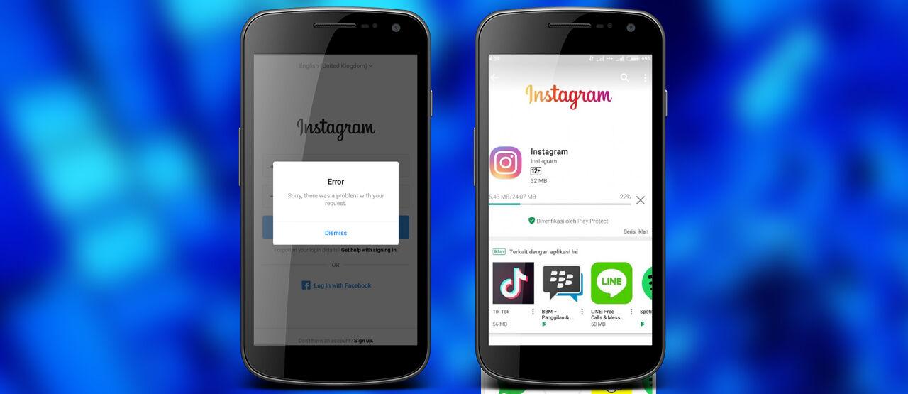 8 Cara Mengatasi Instagram Error | Lengkap dan Ampuh!