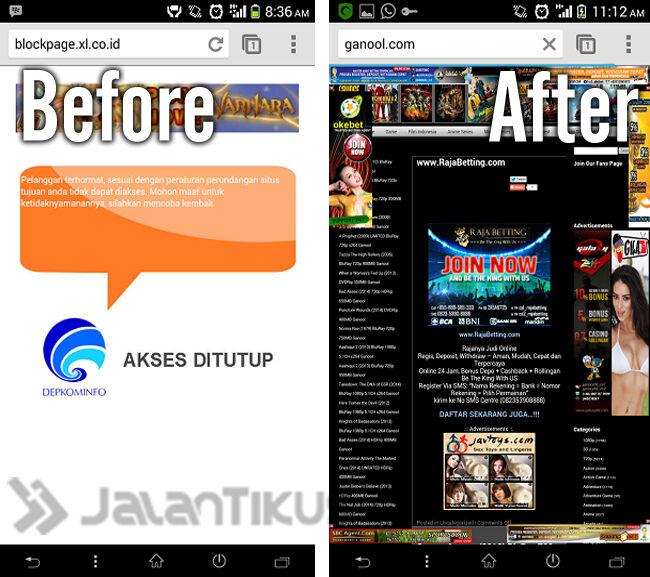 Cara Akses Website Yang Di Blokir Di Android 5