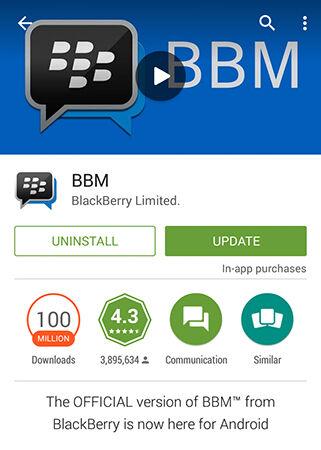 Bbm Di Android Telah Diinstal Lebih Dari 100 Juta Kali