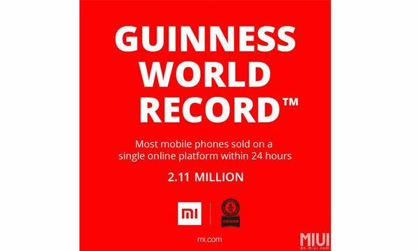 World Record Xiaomi