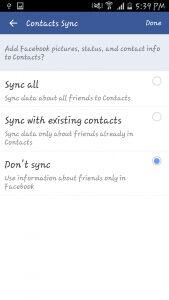 Remove Facebook Contact 2