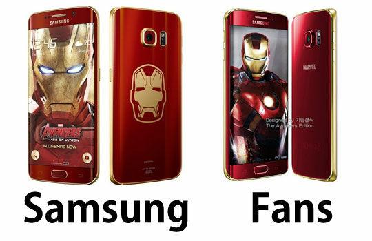Desain Samsung Vs Fans