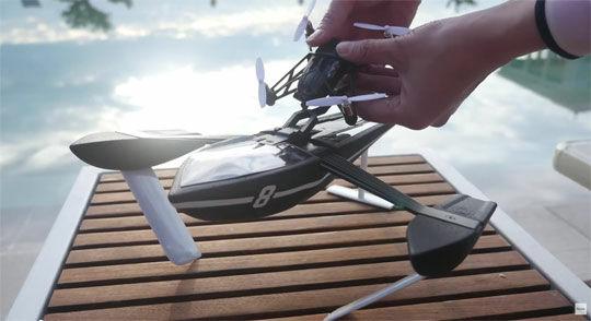 Hydrofoil Drone 3