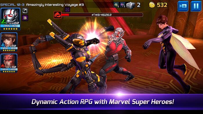 Update Karakter Baru Marvel Future Fight Ant Man 1