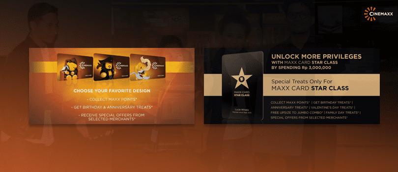 Banner Peresmian Dan Peluncuran Maxx Card Cinemaxx