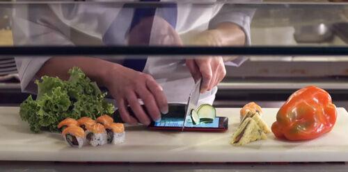 Layar Asus Zenfone 2 Laser Asus Zenfone Selfie Untuk Alas Pisau Sushi 1