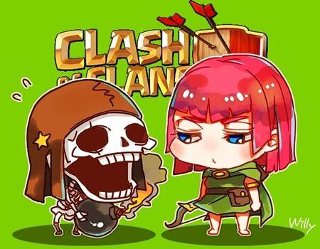 Wallpaper Clash Of Clans Mini 46
