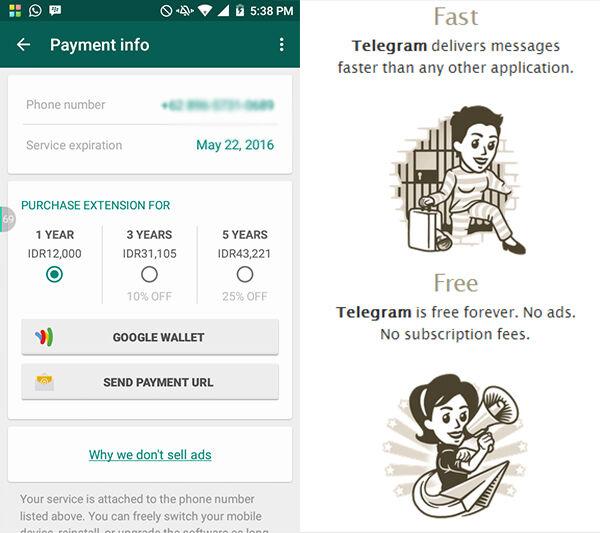 Whatsapp Vs Telegram 7