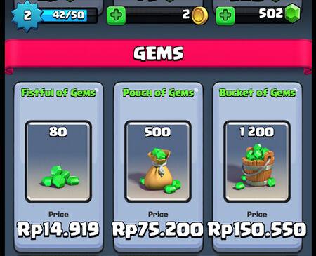 Gems 500