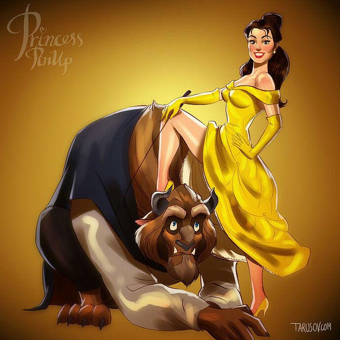 Sisi Lain Disney Princess 7