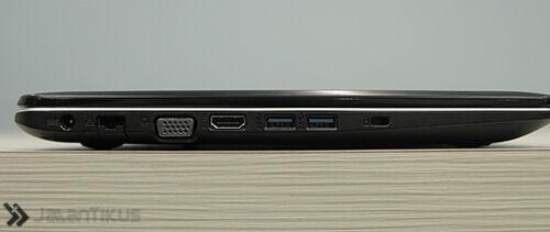 Review Asus X555dg 4