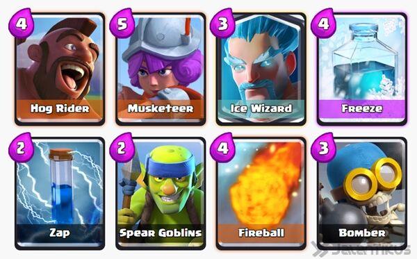 Battle Deck Ice Wizard Clash Royale 18