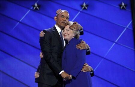 Obama Hiillary Clinton Korban Master Photoshop 8
