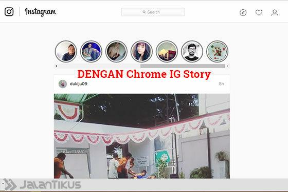 Cara Download Instagram Stories 3