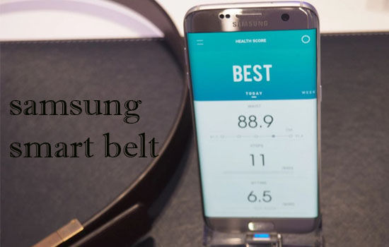 Samsung Smart Belt Pedometer