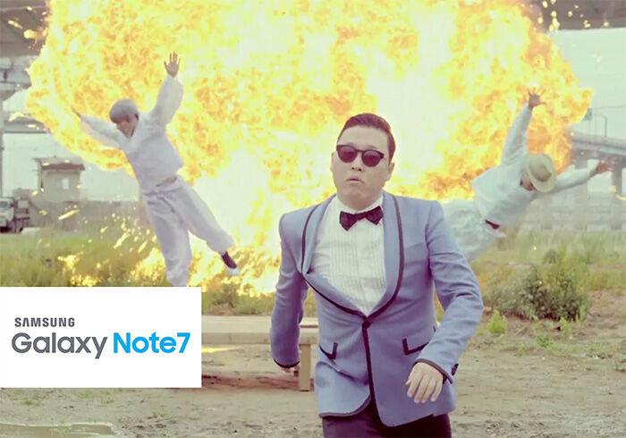 Respon Lucu Samsung Galaxy Note 7 Meledak 4