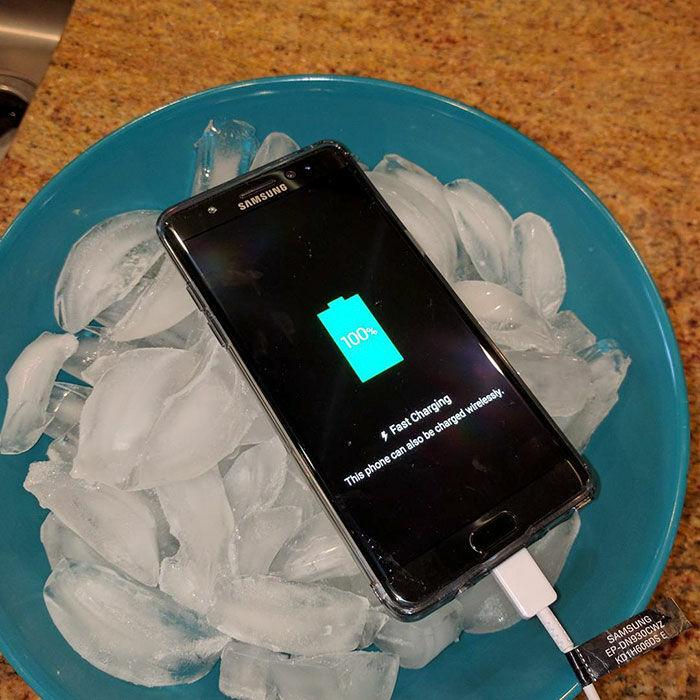 Respon Lucu Samsung Galaxy Note 7 Meledak 7