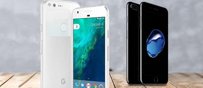 Google Pixel Dan Iphone 7
