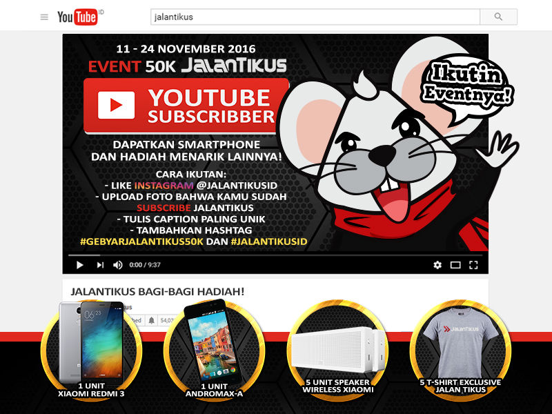 Event Youtube Jalantikus 50 Ribu Subscriber 6