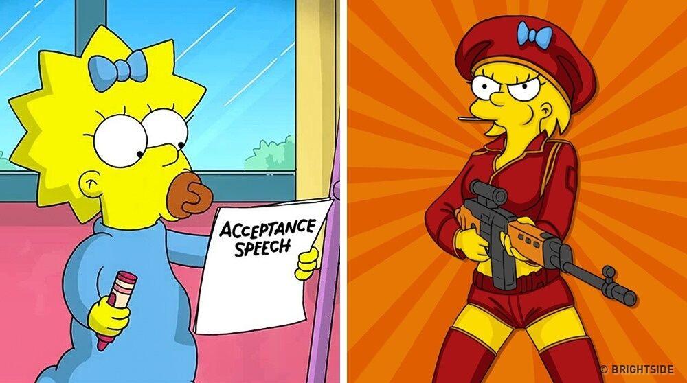 Karakter Kartun Jika Sudah Dewasa 6