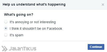 Cara Melaporkan Berita Hoax Di Facebook 2