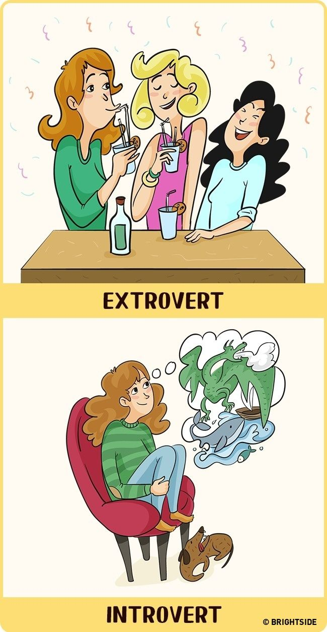 Perbandingan Introvert Dan Ekstrovert 11