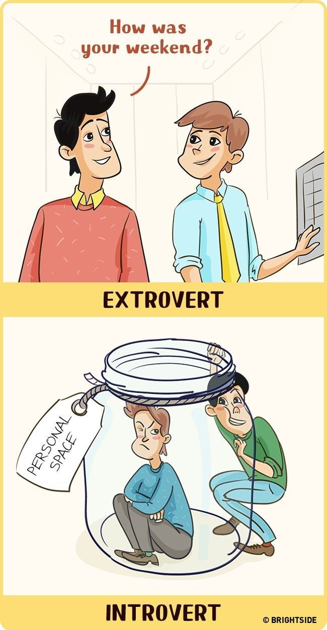 Perbandingan Introvert Dan Ekstrovert 4
