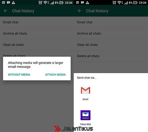 Cara Backup Percakapan Whatsapp 4