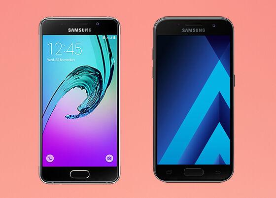 Samsung Galaxy A3 2016 Vs Samsung Galaxy A3 2017