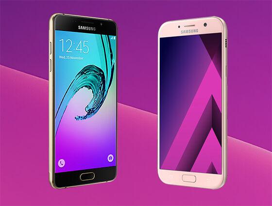 Samsung Galaxy A5 2016 Vs Samsung Galaxy A5 2017