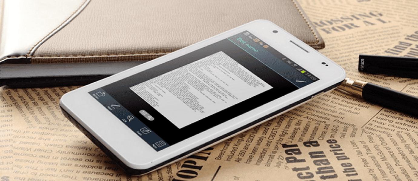 Cara Scan Dokumen Menggunakan Android