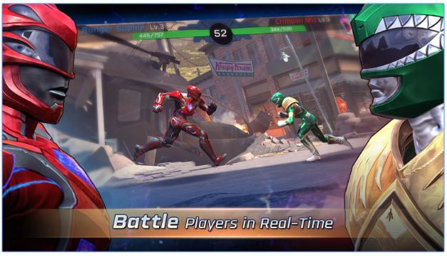 Game Power Ranger Android 1