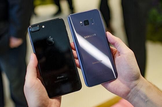 Samsung Galaxy S8 Vs Iphone 7 Plus 3