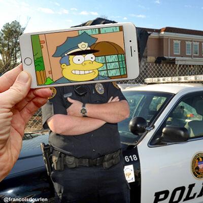 Foto Simpson Di Dunia Nyata 5