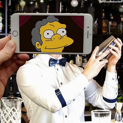 Foto Simpson Di Dunia Nyata 6