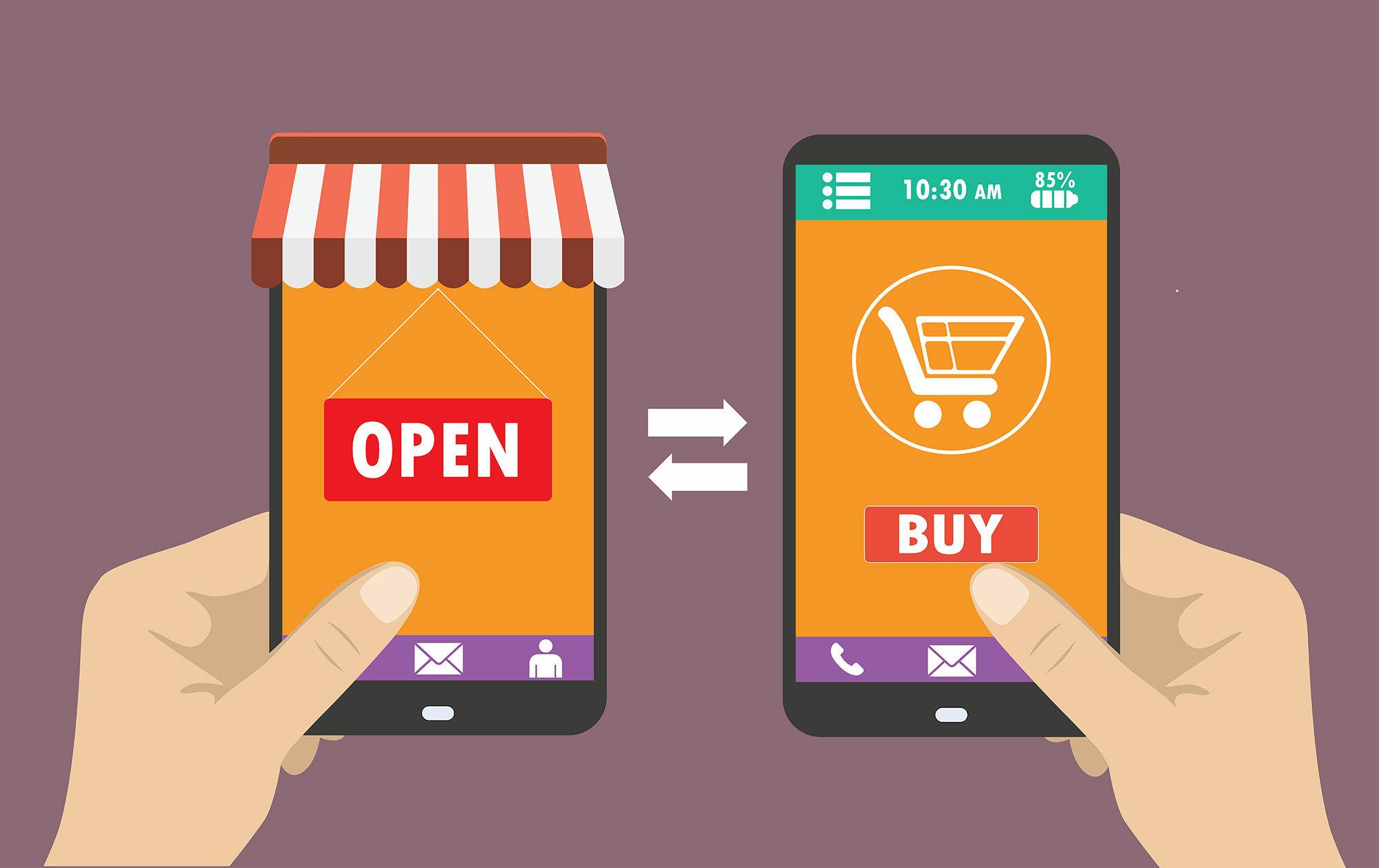 Smartphone Untuk Belanja