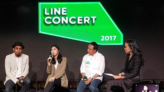 Wawancara Line Concert