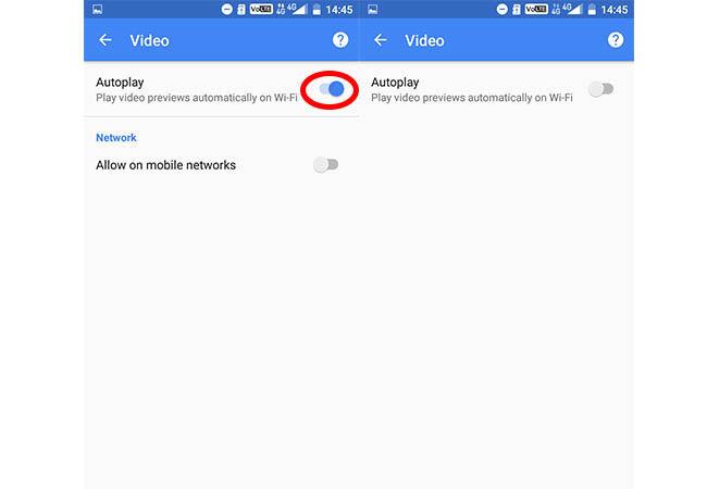 Cara Matikan Autoplay Video 4