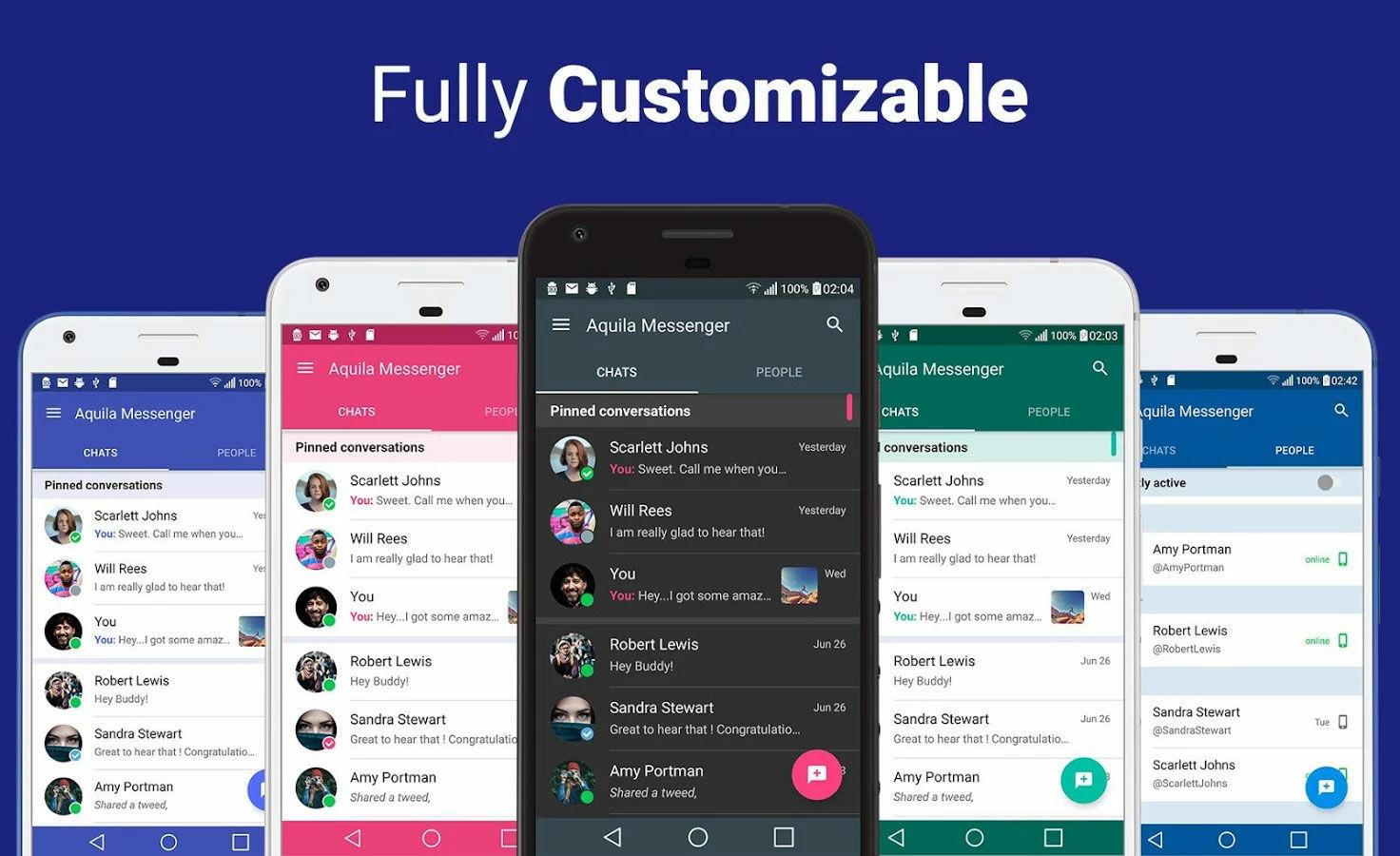 Aplikasi Android Paling Unik Aquila Messenger For Twitter
