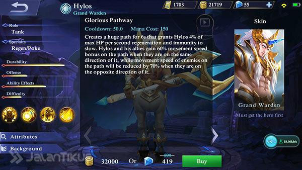 Hero Hylos Mobile Legends 5