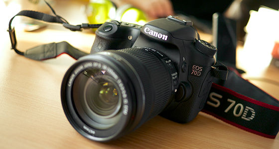 Canon Eos 70d Kamera Youtuber