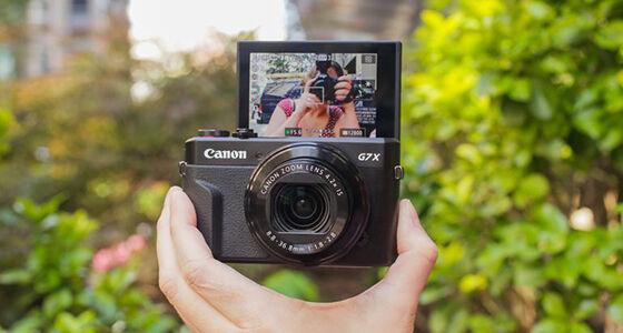 Canon G7 X Mark Ii Kamera Youtuber