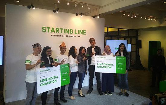 Line Digital Champions