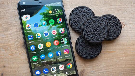 Android Oreo Tren Smartphone 2017