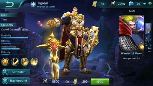 Tigreal 4c404