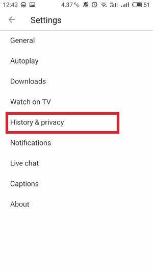 Cara Menghapus Riwayat Pencarian Youtube 4 7681f